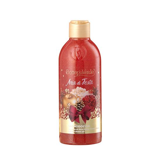 Gel de dus, delicat, cu extract de mere rosii caramelizate, editie limitata - Aria di Festa, 250 ML