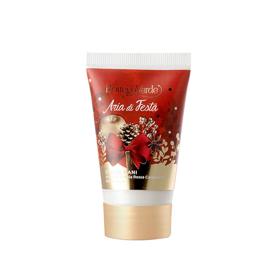 Crema de maini cu extract de mere rosii caramelizate, editie limitata - Aria di Festa, 30 ML