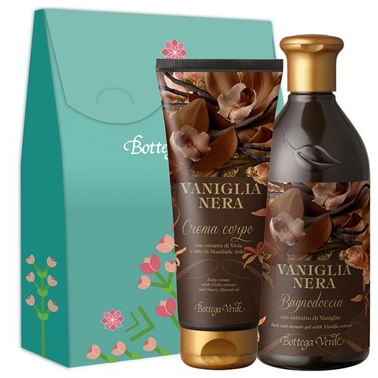 Set cadou - Gel de dus si crema de corp cu vanilie neagra - Vaniglia Nera, 400 ML + 200 ML