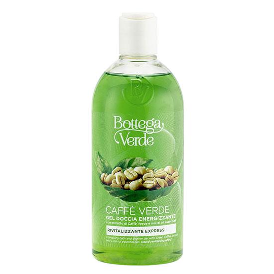 Gel de dus cu extract de cafea verde si mix de uleiuri esentiale - Caffè Verde, 400 ML