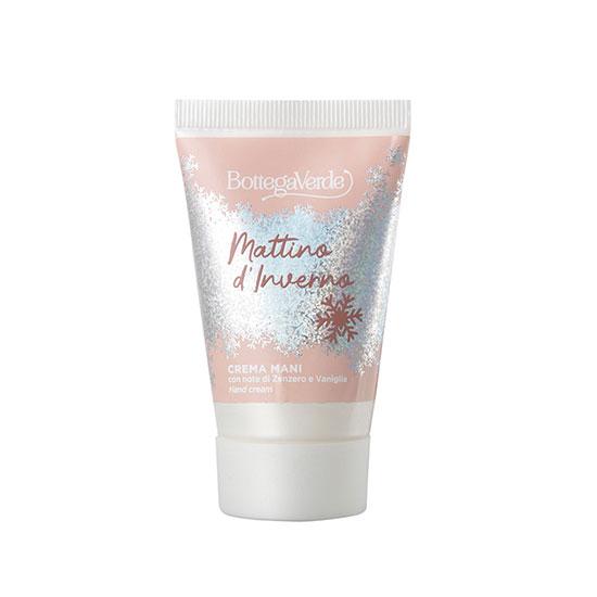 Crema de maini, hidratanta, cu extract de ghimbir si vanilie, editie limitata - Mattino d'Inverno, 30 ML