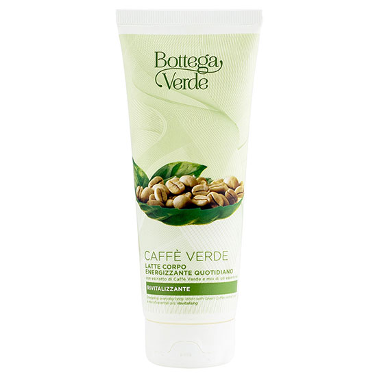 Lapte de corp energizant cu extract de cafea verde si mix de uleiuri esentiale - Caffè Verde, 200 ML