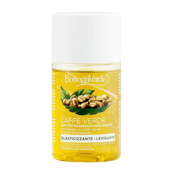 Ulei pentru masaj anticelulitic cu extract de cafea verde si mix de uleiuri esentiale - Caffè Verde, 100 ML