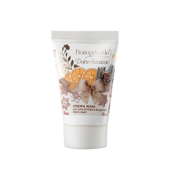 Crema de maini, hidratanta, cu extract de miere si bergamota, editie limitata - Dolce Abbracio, 30 ML