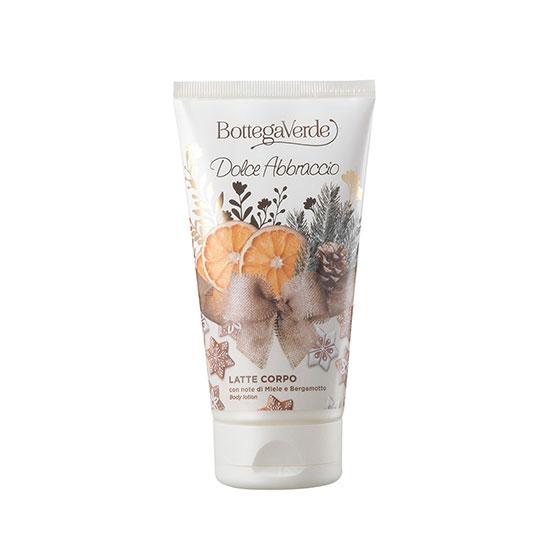 Lapte de corp, hidratant, cu extract de miere si bergamota, editie limitata - Dolce Abbracio, 150 ML