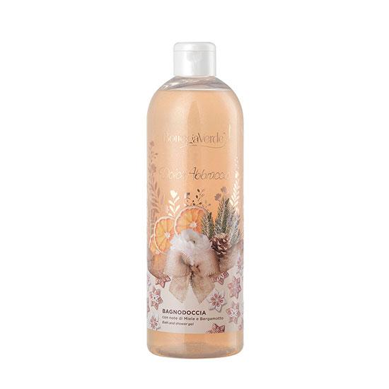 Gel de dus, hidratant, cu extract de miere si bergamota, editie limitata - Dolce Abbracio, 750 ML