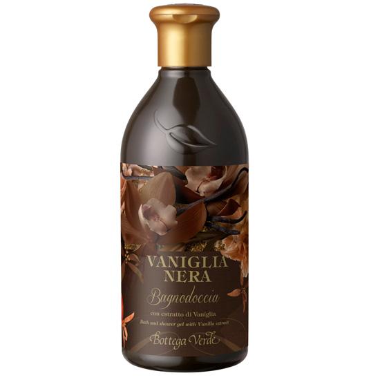 Gel de dus cu extract de vanilie neagra - Vaniglia Nera, 400 ML