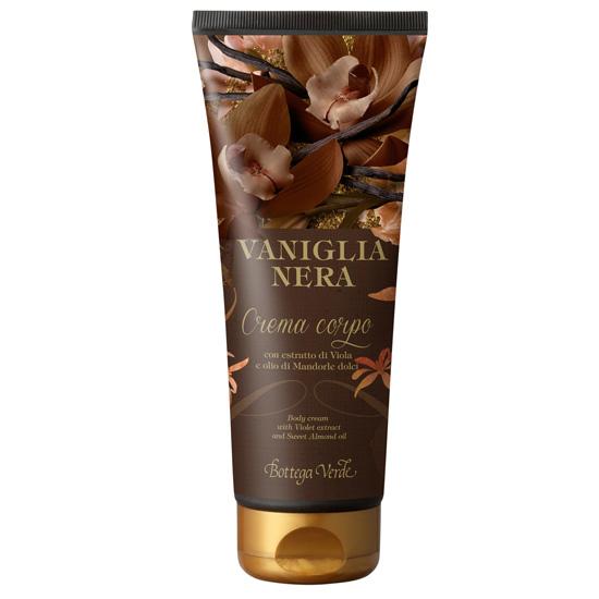 Crema de corp cu extract de vanilie neagra si unt de shea - Vaniglia Nera, 200 ML
