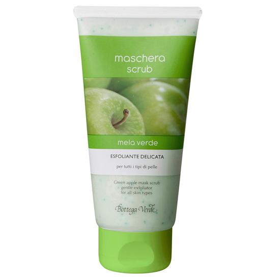 Masca scrub Mar verde - exfoliant delicat - pentru toate tipurile de ten  (75 ML)