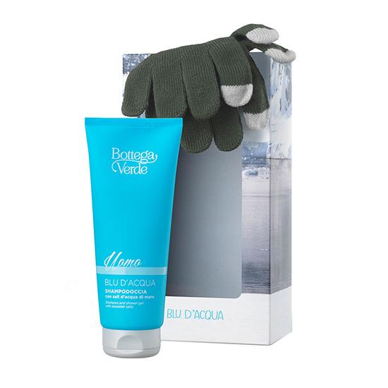 Set cadou barbati cu aroma fresh - Blu D'Acqua, 200 ML