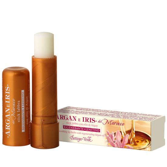 Balsam de buze cu ulei de argan si lapte de Iris, incolor - Argan e Iris, 5 ML