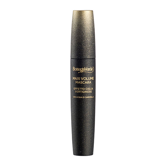Mascara gene, cu efect de volum extrem, cu extract de musetel, negru , 12 ML