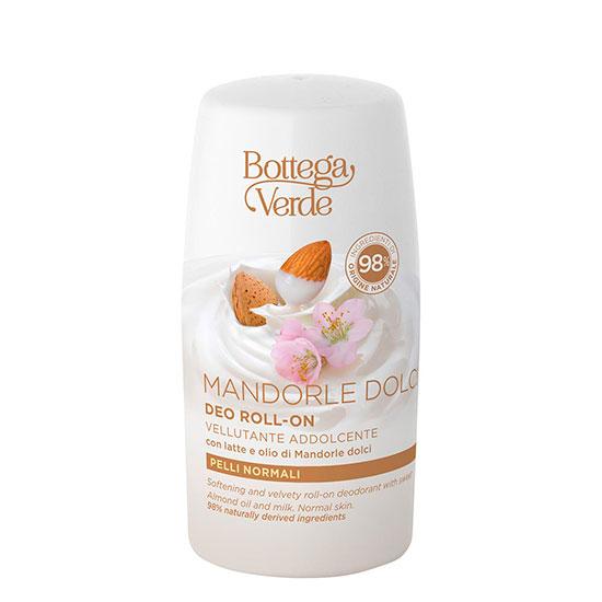 Deodorant roll-on cu lapte si ulei de migdale dulci - MANDORLE DOLCI, 50 ML