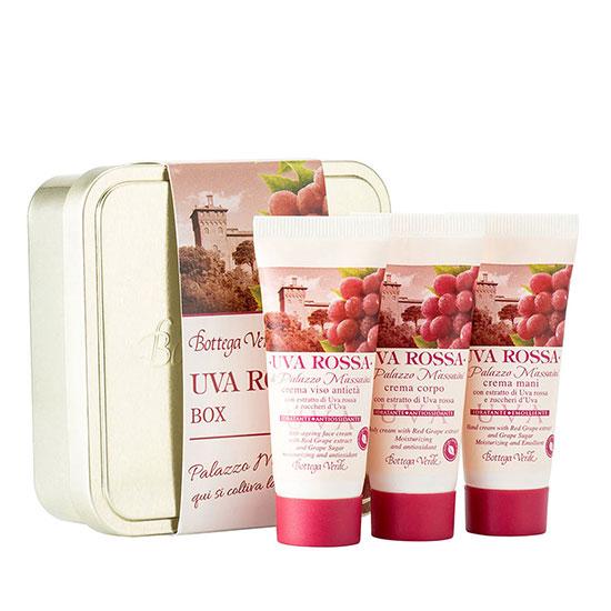 Kit de calatorie, hidratant si nutritiv cu extract de struguri rosii - Uva Rossa, 20 ML