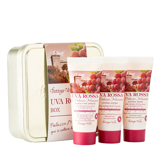 Set travel size cu extract de struguri rosii - Uva Rossa, 20 ML