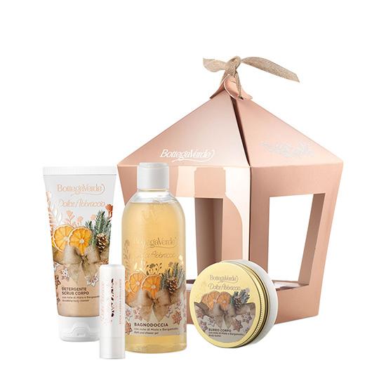 Set cadou femei, ingrijire piele, cu extract de miere si bergamota - Dolce Abbracio, 100 ML, 250 ML, 5 ML, 50 ML