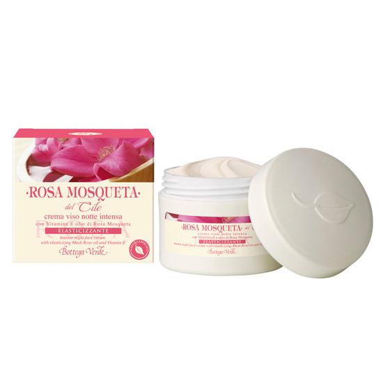 Crema de noapte cu vitamina E si ulei de macese - Rosa Mosqueta, 50 ML