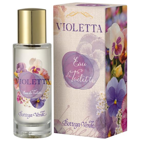 Apa de toaleta cu aroma de violete - Violetta, 30 ML