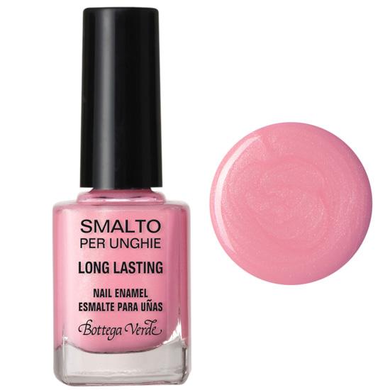 Lac de unghii stralucitor, roz - Smalto, 10 ML