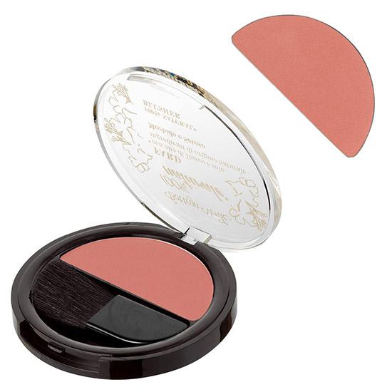 Fard de obraji cu extract de ulei de hibiscus si ingrediente naturale, mov roz - 100% natural