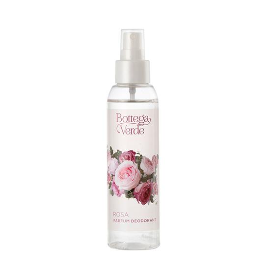Parfum deodorant cu apa din muguri de trandafiri - Rosa, 125 ML