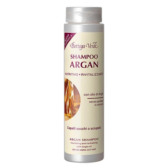 Sampon cu ulei de argan - Argan del Marocco, 200 ML