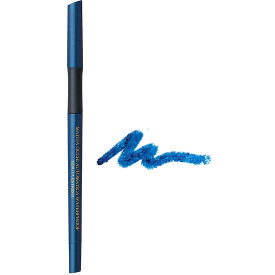 Creion de ochi waterproof, retractabil, cu vitamina C si E, albastru electric