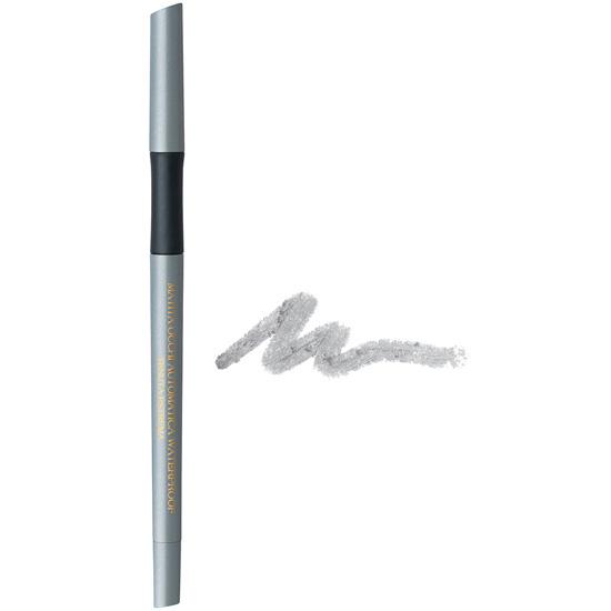 Creion de ochi waterproof, retractabil, cu vitamina C si E, argintiu