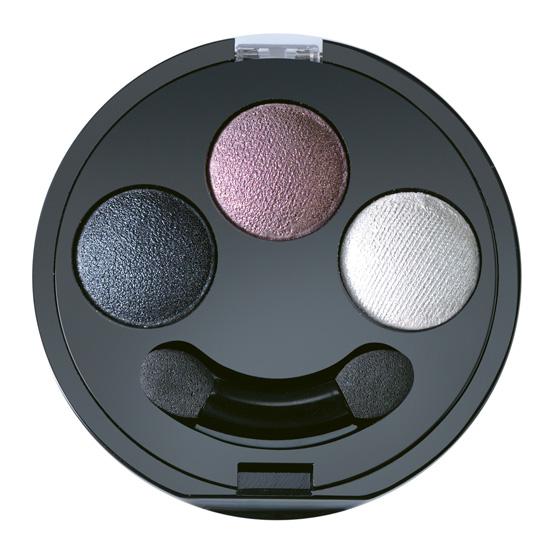 Fard de pleoape trio, umed/uscat cu vitaminele A-C-E, nuante de gri - My color