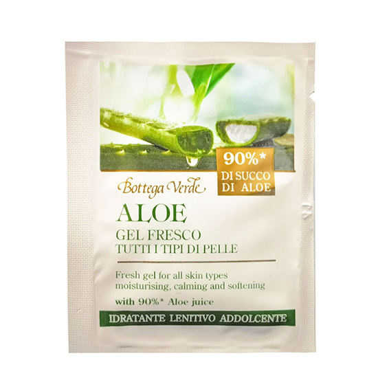 Mostra gel racoritor cu 90% extract de aloe vera - Aloe, 6 ML