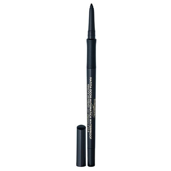 Creion de ochi retractabil, rezistent la apa, cu vitamina C si E, negru
