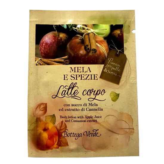 Mostra - Lapte de corp cu extract de mere si scortisoara - Mela e Spezie, 4 ML