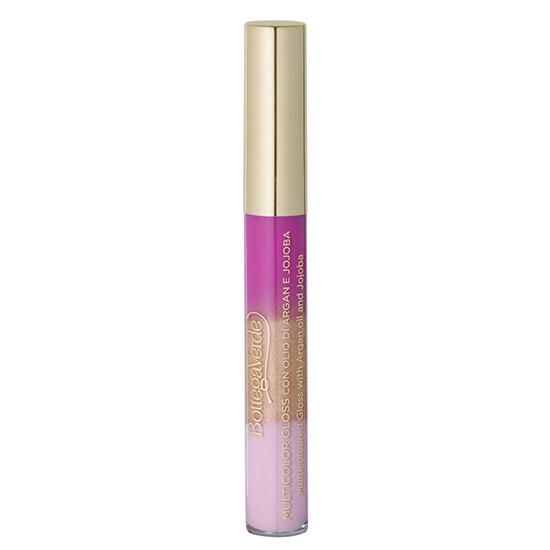 Luciu de buze multicolor cu extract de jojoba si ulei de argan, nuante de roz, 6.5 ML