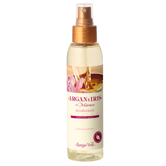 Parfum deodorant cu ulei de argan si lapte de Iris - Argan e Iris, 125 ML