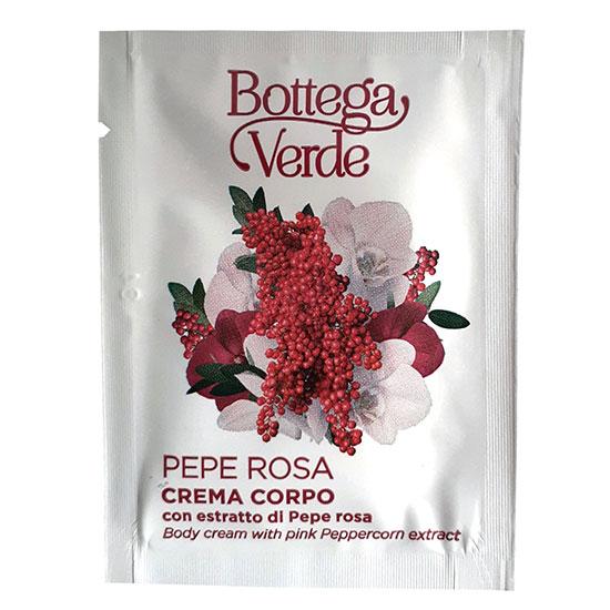 Mostra crema de corp hidratanta, cu extract de piper roz - Pepe Rosa, 4 ML