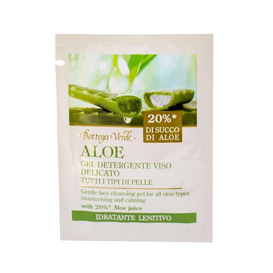 Mostra gel de curatare, pentru toate tipurile de ten, cu extract de aloe vera - Aloe, 4 ML