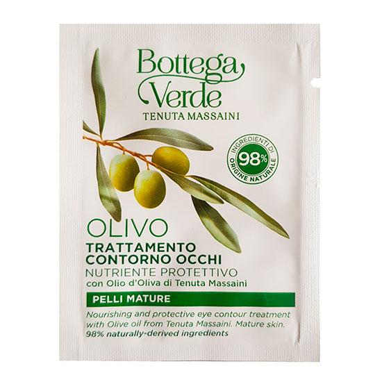 Tratament pentru ochi, hidratant si nutritiv, cu ulei de masline de la Palazzo Massaini - Olivo, 4 ML