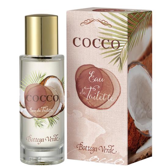 Apa de toaleta cu aroma de cocos - Cocco, 30 ML