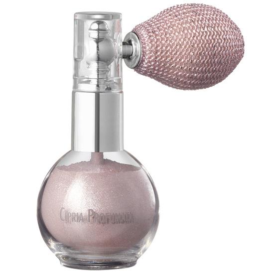 Pudra pulbere parfumata pentru fata si decolteu, cu perle de rau, roz perla - Fara gama