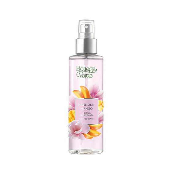 Apa parfumata cu note de flori de magnolie si mango, 150 ML