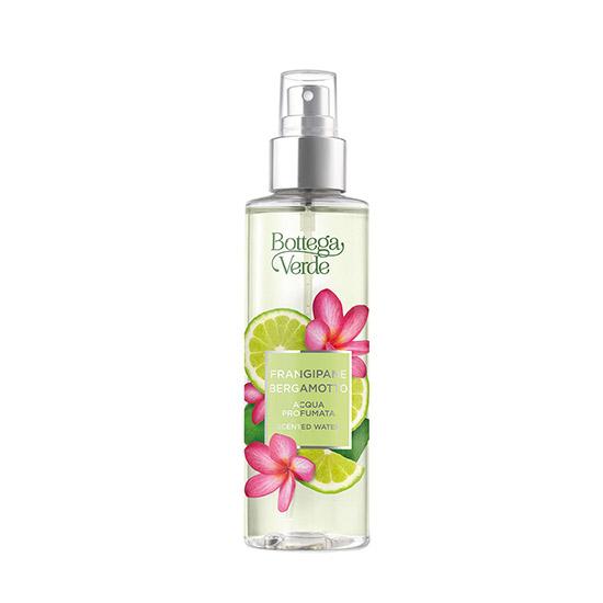 Apa parfumata cu note citrice de bergamota si flori de frangipani, editie limitata, 150 ML