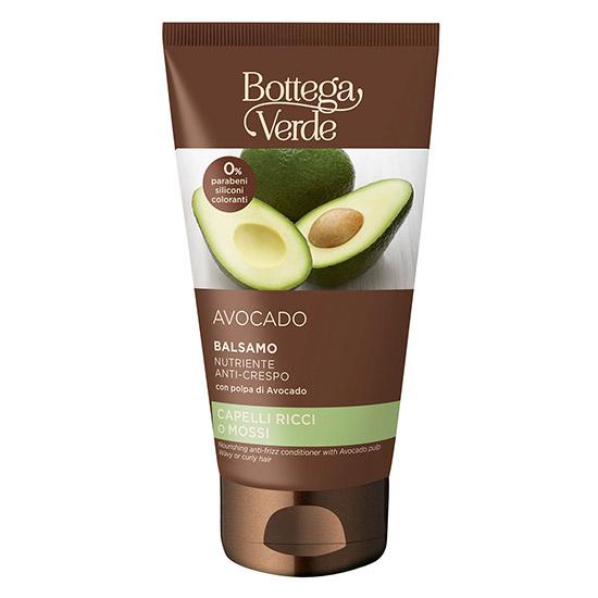 Balsam anti-electrizare, pentru par ondulat sau cret, cu extract de avocado - Avocado, 150 ML