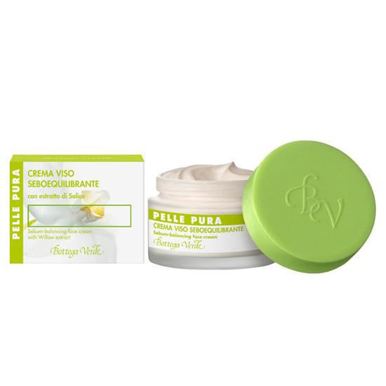 Crema seboechilibranta cu extract de salcie - Pelle Pura , 50 ML