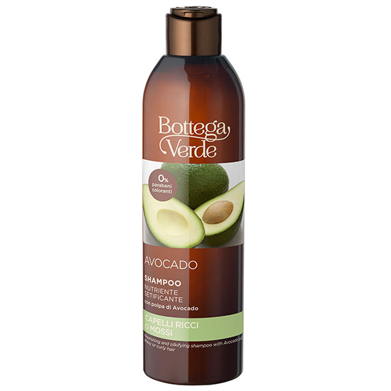 Sampon pentru par cret sau ondulat, cu extract de avocado - Avocado, 250 ML