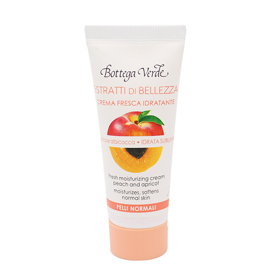 Crema de fata mini, hidratanta, cu extract de piersici si caise - Estratti di Bellezza, 20 ML