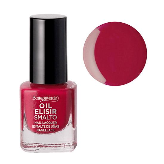 Lac de unghii stralucitor, rosu capsuna - Smalto, 5 ML