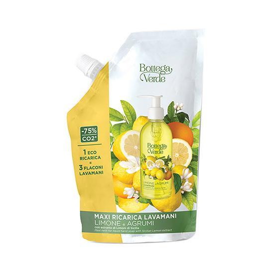 Sapun lichid, delicat, cu arome de citrice - Limone e Agrumi, 750 ML