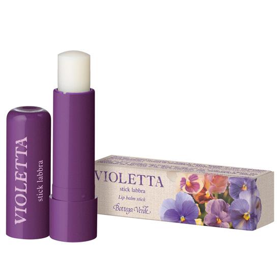 Balsam de buze cu aroma de violete, incolor - Violetta  (5 ML)