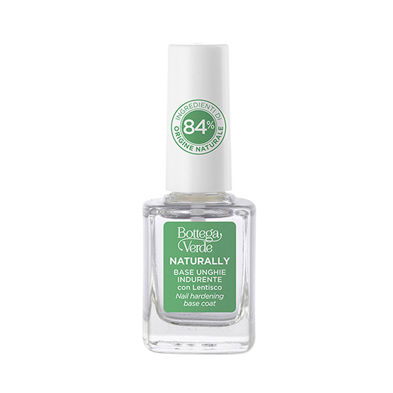 Baza de intarire a unghiilor, cu extract de lentisc si solventi de origine naturala, incolor - Naturally, 10 ML