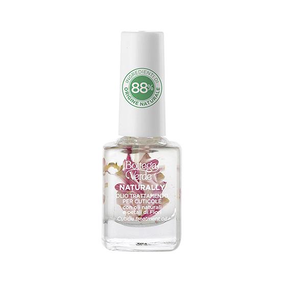 Tratament pentru cuticule, cu uleiuri naturale si petale de flori, incolor - Naturally, 10 ML